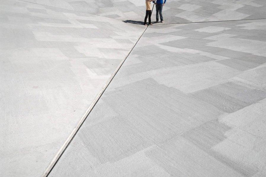BRUCE NAUMAN_Square Depression_Münster_Deutschland_1977-2007_4